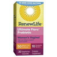 Renew Life Ultimate Flora Women's Vaginal 50B 30 ct
