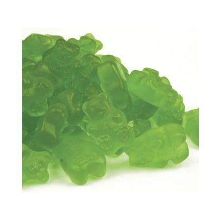 SweetGourmet Green Apple Gummi Bears | Apple Flavor Bulk Green Gummy Candy | 3 pounds - Green Gummy Bears