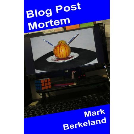 Blog Post Mortem - eBook - Halloween Blog Post Ideas