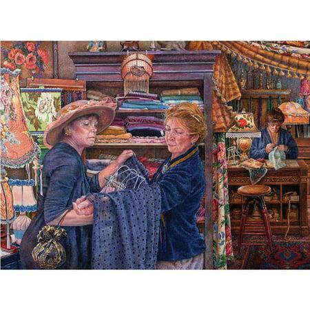 Premium Blue Board Jigsaw Puzzle - Susan Brabeau - Lamp Shop: 1000 Pcs