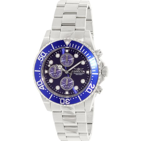 Men's 1769 Pro Diver Chronograph Stainless Steel Blue Dial (Pro Diver Blue Dial)