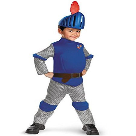 Disguise Boy's Mike The Knight Deluxe Costume, 3T-4T](Mike Costume)