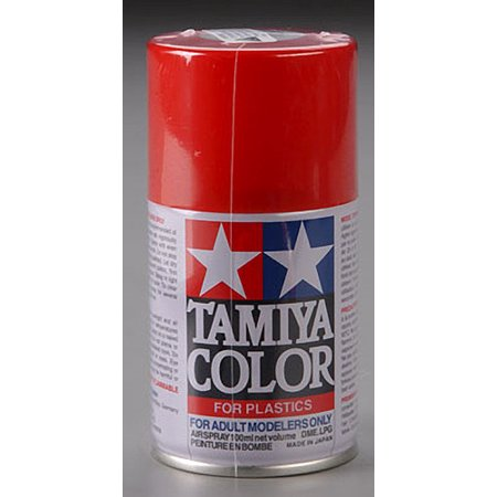 Tamiya America, Inc Spray Lacquer TS-49 Bright Red,