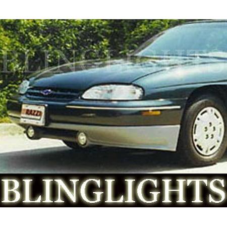 Razzi Body Kit (1997 1998 1999 Chevy Lumina Razzi Body Kit Angel Eyes Fog Lamps Halos Driving Lights Chevrolet )