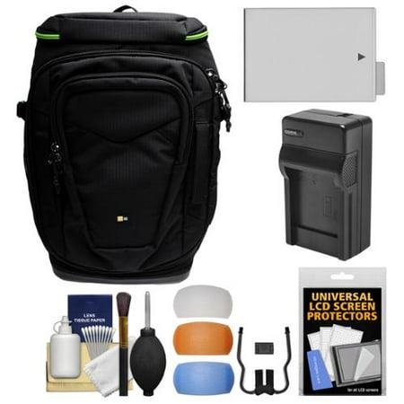 d53b18f26b284 Case Logic Kontrast KDB-101 Pro DSLR Camera Backpack Case with LP-E8  Battery & Charger + Kit for Canon Rebel T3i, T4i, T5i - Walmart.com