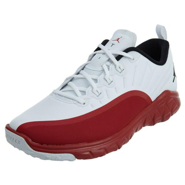 Nike 881462-120 : Jordan Trainer Prime BG boys basketball shoes White