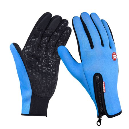 (Sawpy Winter Gloves for Women and Men Touchscreen Windproof Thermal Outdoor Ski Leisure Snowboarding Motorcycle Camping Thermal Gloves)
