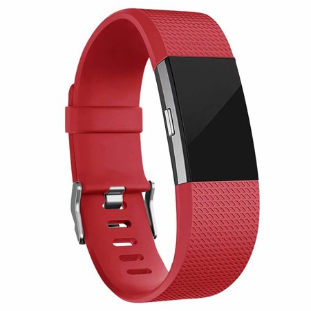 Fitbit Charge 2 Bands Replacement Sport Strap Accessories with Fasteners and Metal Clasps for Fitbit Charge 2 Wristband (Small,