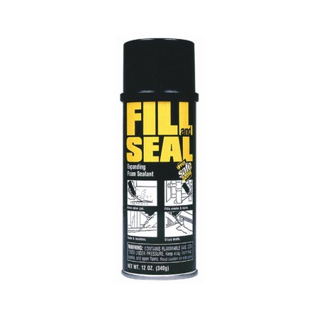 Fill And Seal Foam Sealant  2 Pack   Permanent  Rigid  Nonshrinking  Waterproof Water Resistant  By Dow Chemical Co  Ship From Us