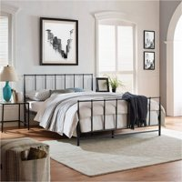 Modway Estate King Steel Platform Bed, Multiple Colors