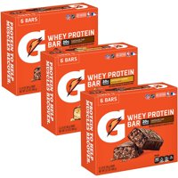 Gatorade Whey Protein Recover Bars, Variety Pack, 18 Ct