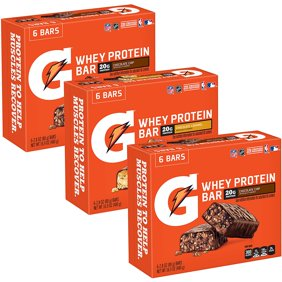 Gatorade Whey Protein Recover Bars Variety Pack 18 Ct