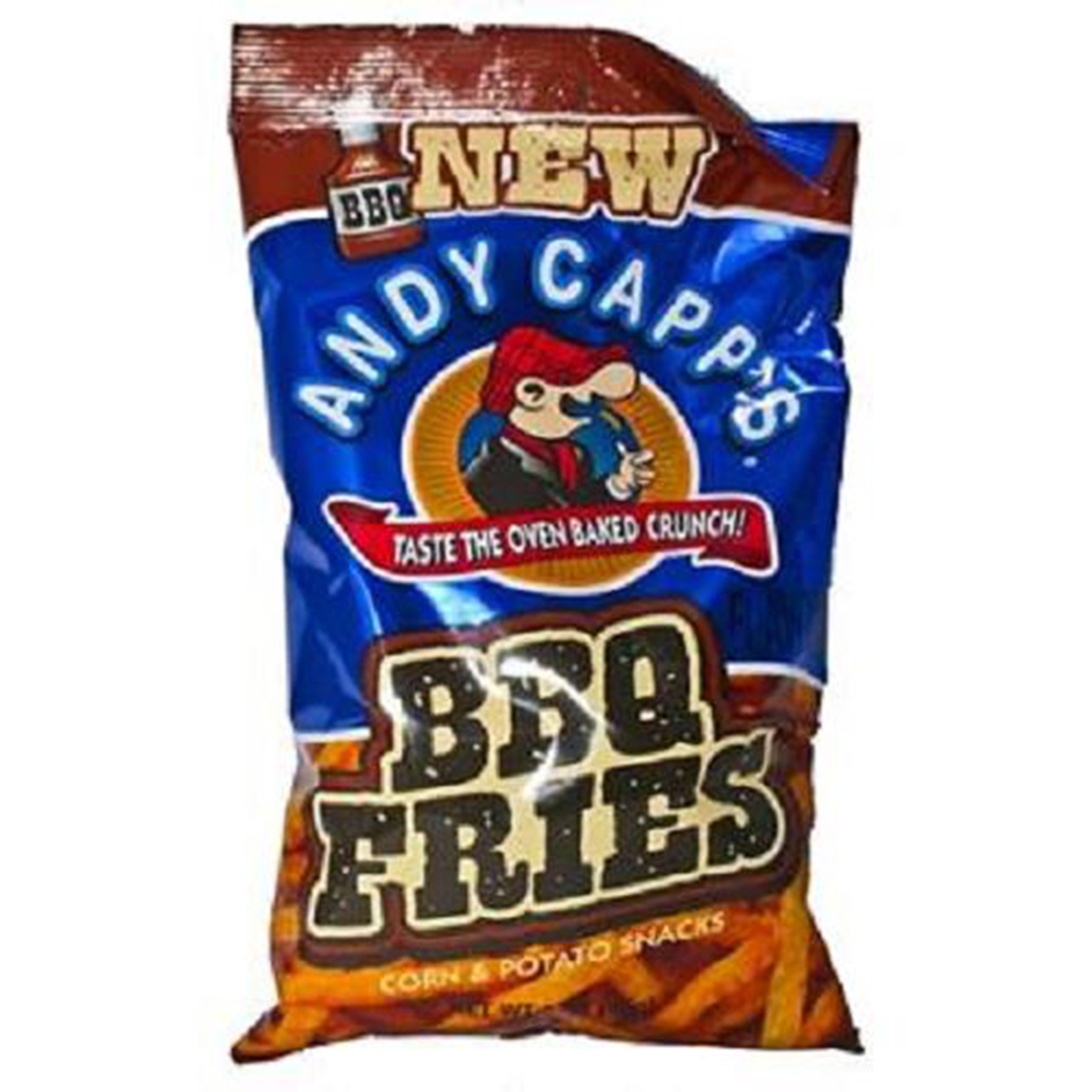 Product Of Andy Capp, Bbq Fries, Count 12 (3 oz) - Snacks / Grab Varieties & Flavors