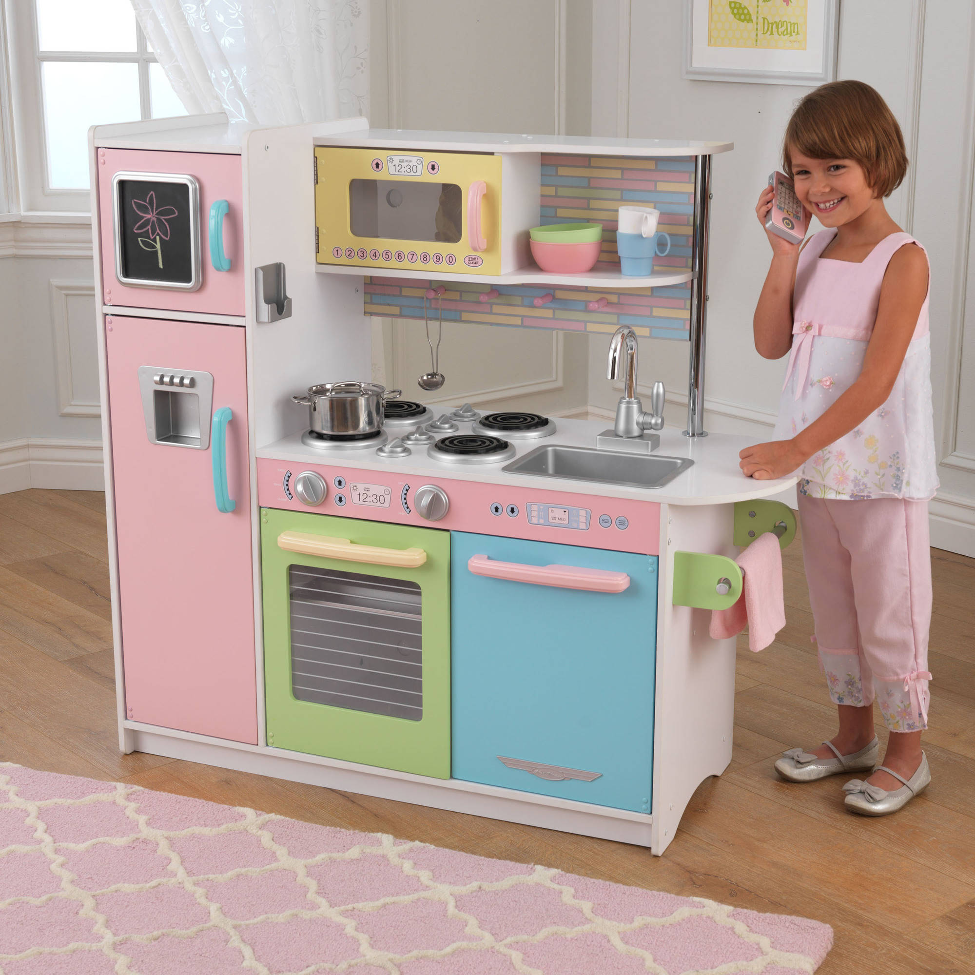 simple kidkraft kitchen uptown espresso play 53260 to design