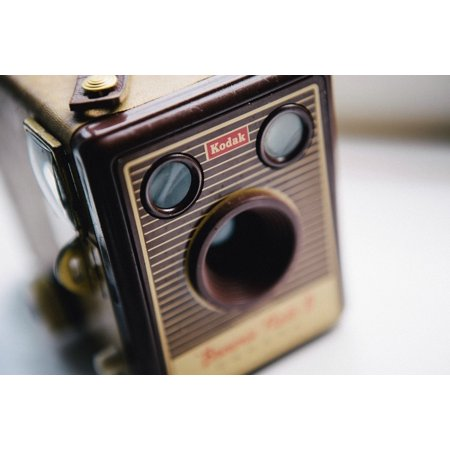 LAMINATED POSTER Antique Film Retro Camera Vintage Style Kodak Poster Print  24 x 36
