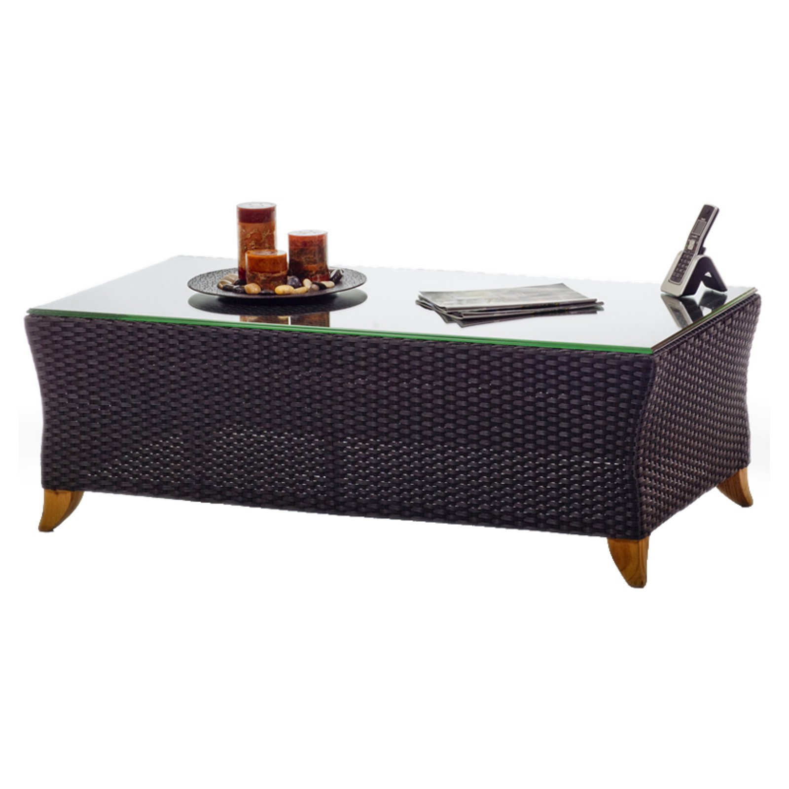 All Things Cedar Rattan Coffee Table by All Things Cedar