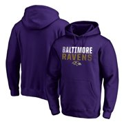 Baltimore Ravens NFL Pro Line by Fanatics Branded Iconic Collection Fade Out Pullover Hoodie - Purple