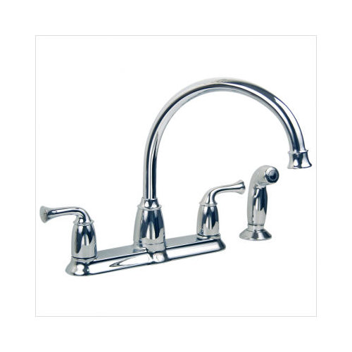 Moen Banbury High Arc Kitchen Faucet with Matching Side