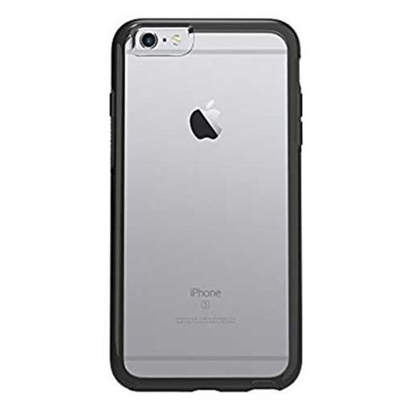 OtterBox SYMMETRY SERIES Case for iPhone 6 Plus/6s Plus (5.5 Version), BLACK CRYSTAL (CLEAR/BLACK) - Standard Packaging (Outter Box Case For Iphone 6s)