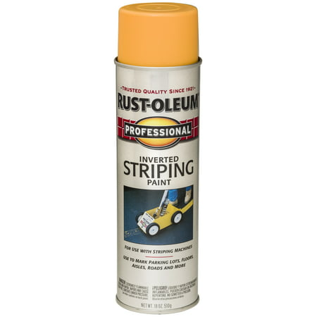 (3 Pack) Rust-Oleum Professional Inverted Striping Paint (Best Gloss Paint That Doesn T Yellow)
