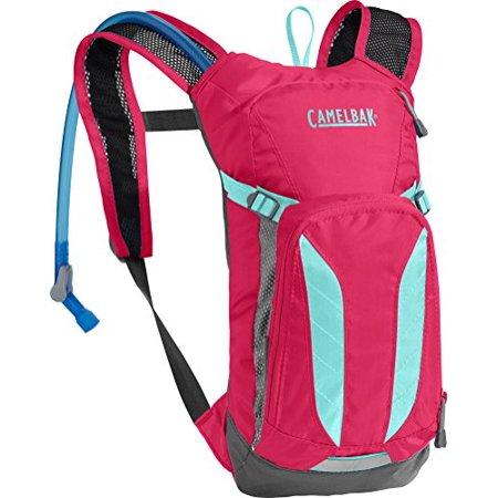 CamelBak Kids Mini M.U.L.E. Crux Reservoir Hydration Pack, Azalea/Aruba Blue, 1.5 L/50 oz - image 3 de 3