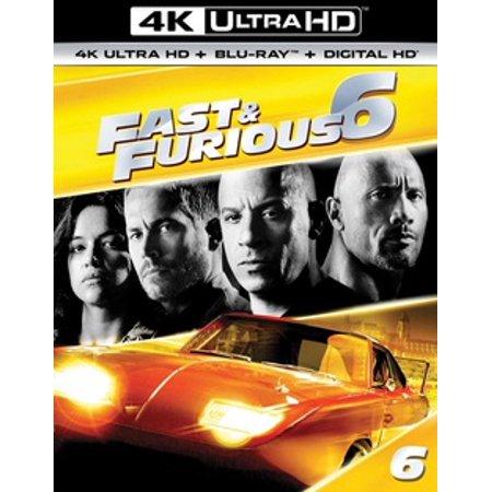 Fast & Furious 6 (4K Ultra HD)
