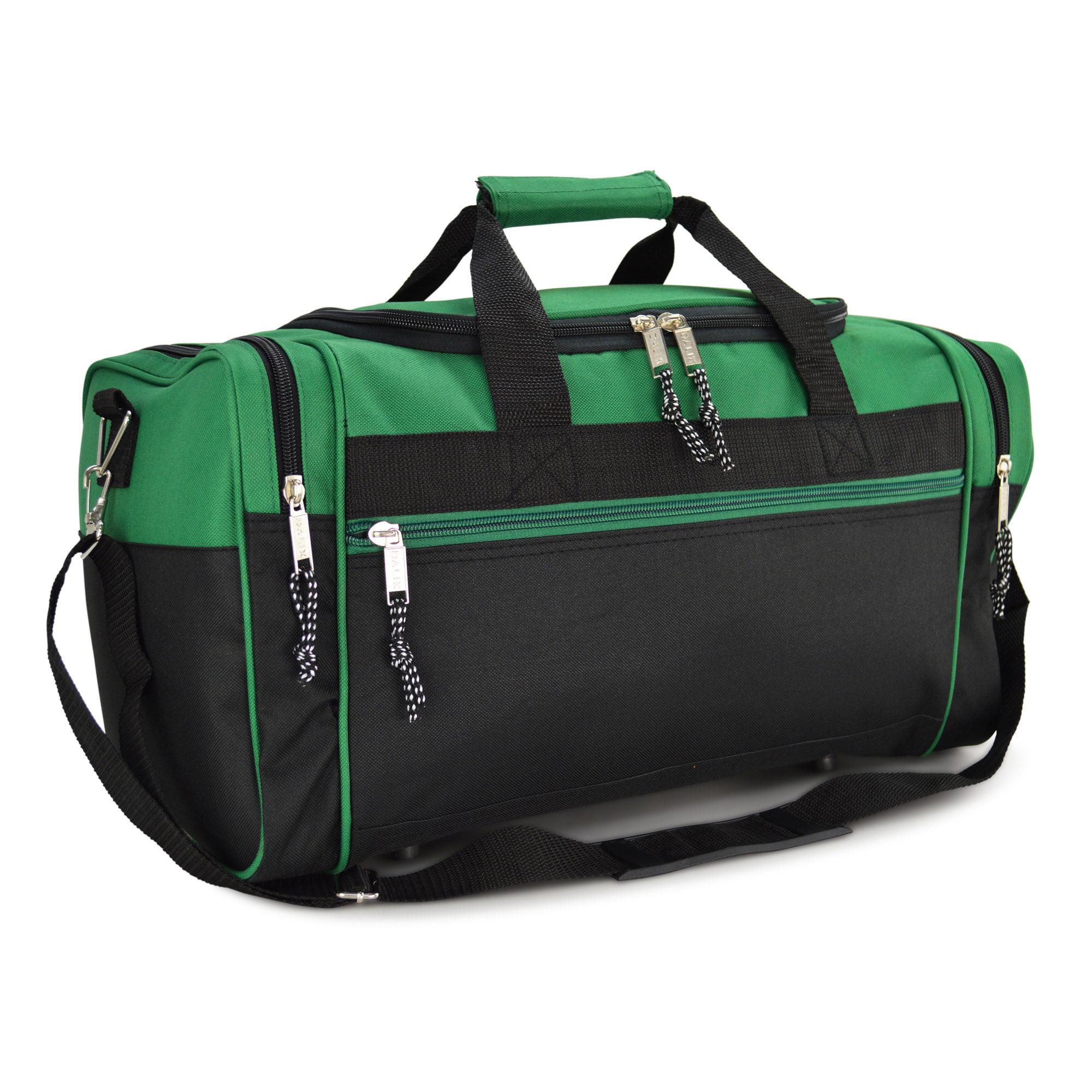 "DALIX 21"" Blank Sports Duffle Bag Gym Bag Travel Duffel with Adjustable Strap in Royal Blue"