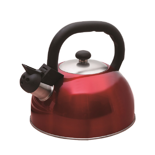Creative Home Satin Mist 2.6-qt. Whistle Tea Kettle