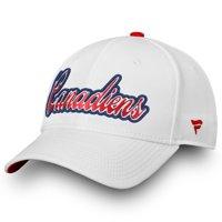 Montreal Canadiens Fanatics Branded Women's Alpha Adjustable Hat - White - OSFA