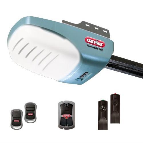 Genie GEN37411VM Genie 2562-TC PowerLift 900 half HP AC Screw Garage Door Opener with 2 3-Button Remotes Wall Console and Safe-T-Beams