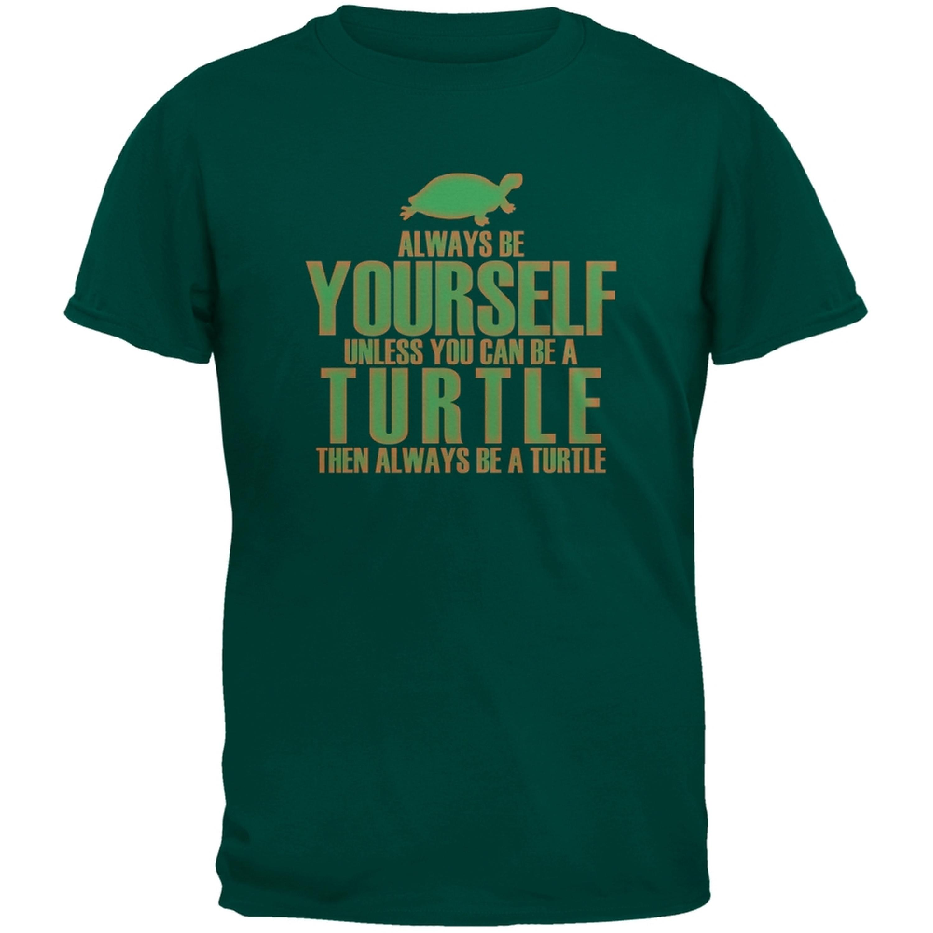 Always Be Yourself Turtle Green Youth T-Shirt