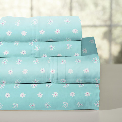 Lullaby Bedding 200 Thread Count 100pct Cotton Sheet Set