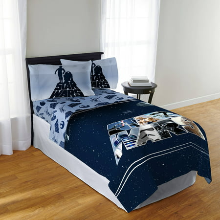 Star Wars Classic 39 Space Logo 39 Twin Sheet Set
