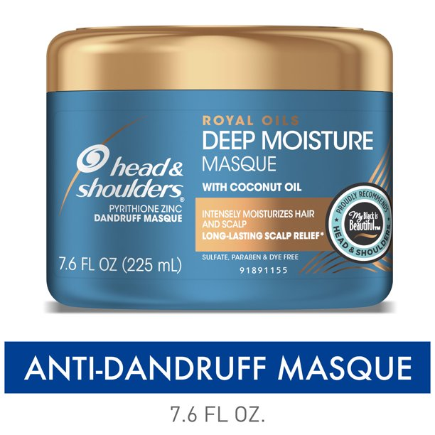 Head and Shoulders Royal Oils Deep Moisture Masque, 7.6 fl oz