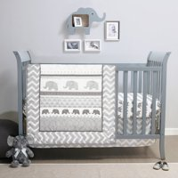 Product Image Belle Elephant Walk 4 Piece Crib Bedding Set