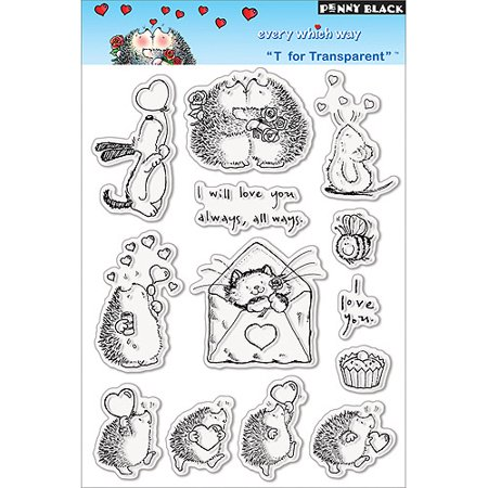 Penny Black Clear Stamps - Clear Stamps