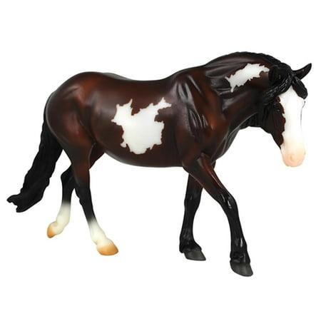 "Breyer Freedom Series (Classics) Bay Pinto Pony   Model Horse Toy   1:12 Scale (Classics)   9"" L x 6"" H   Model # 920"