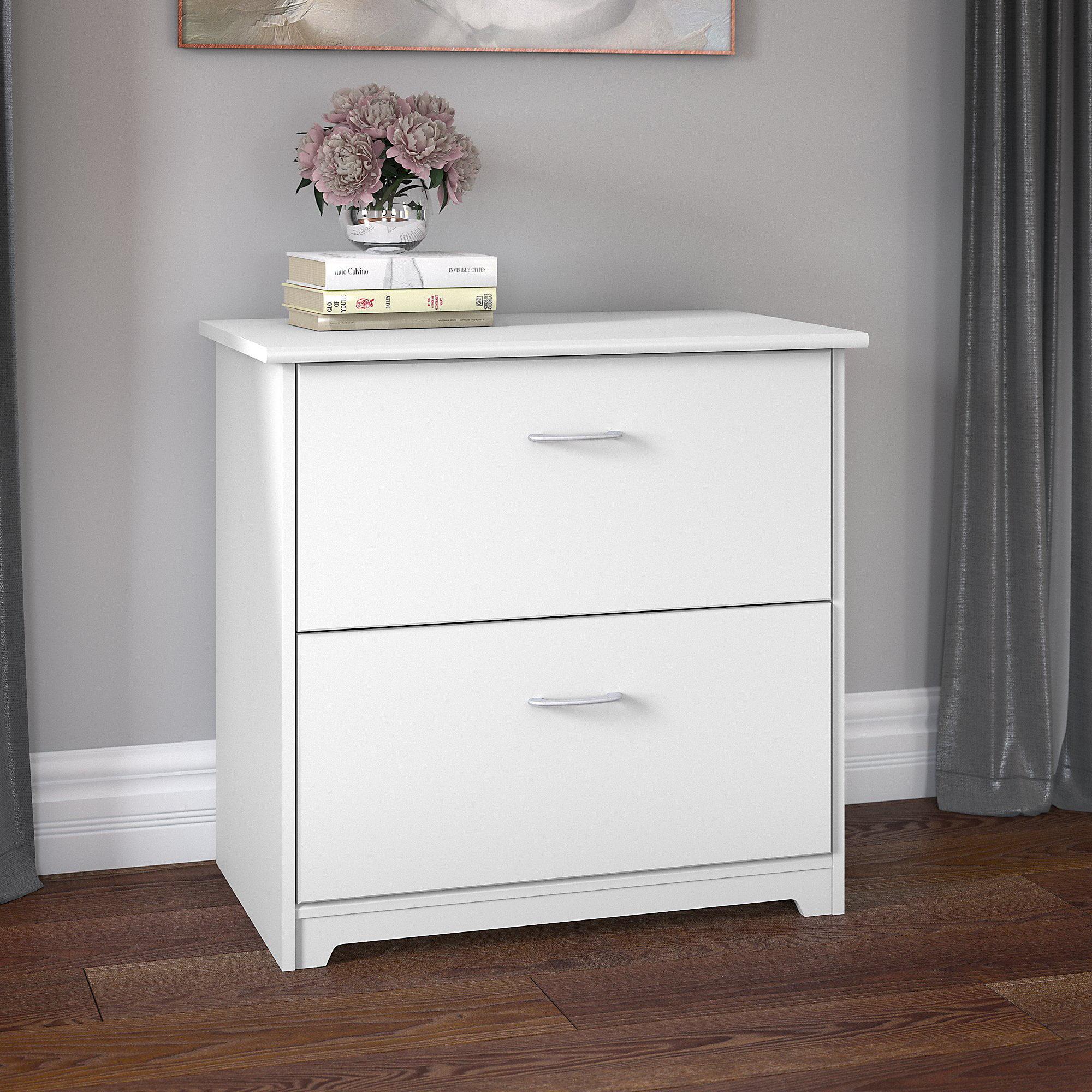Bush Furniture Cabot 2 Drawer Lateral File Cabinet Walmart Com Walmart Com