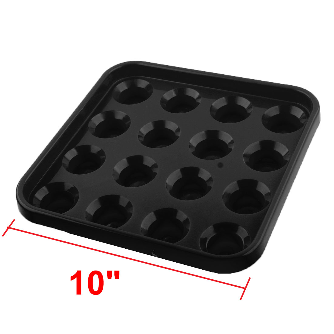 Details about  /Black Billiard Ball Tray Box Holder Case Holds 16 Balls Snooker Billilard Table