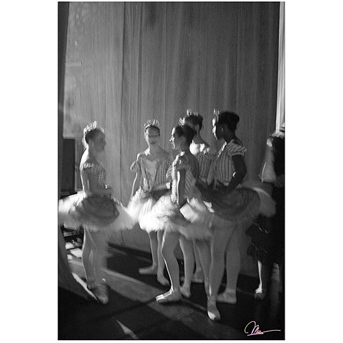 "Trademark Fine Art ""Chatting Dancers"" Canvas Art by Martha Guerra"