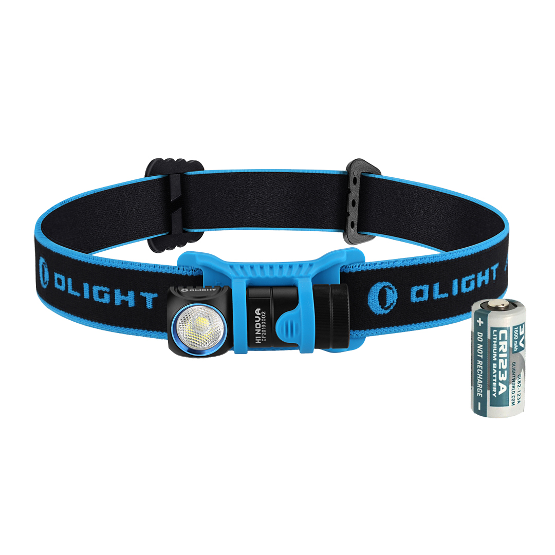 Olight H1 Nova CW LED Headlamp - CREE XM-L2 Cool White LED