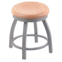 Holland Bar Stool Co Misha Swivel Dining Stool with Wood Seat