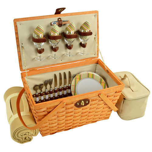 Picnic At Ascot Hamptons Settler Picnic Basket