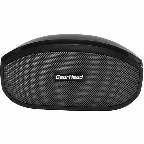 Gear Head Bluetooth Speaker with Microphone