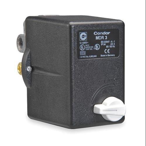 Condor USA 31TG3ENX Pressure Switch, 3PST, 215/250 psi