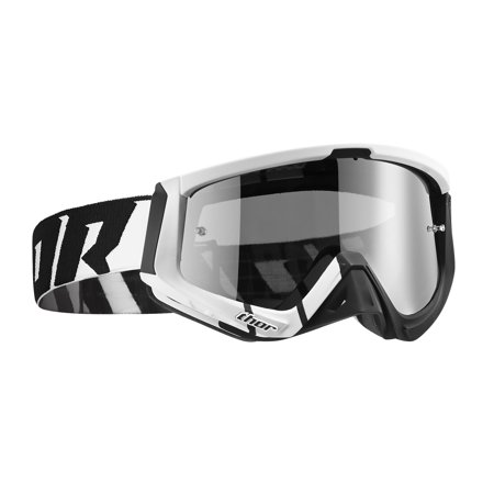 Thor Sniper MX/Offroad Goggles Barred White/Black OS