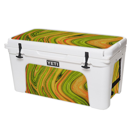 MightySkins Protective Vinyl Skin Decal for YETI Tundra 110 qt Cooler Lid wrap cover sticker skins Marble Trip