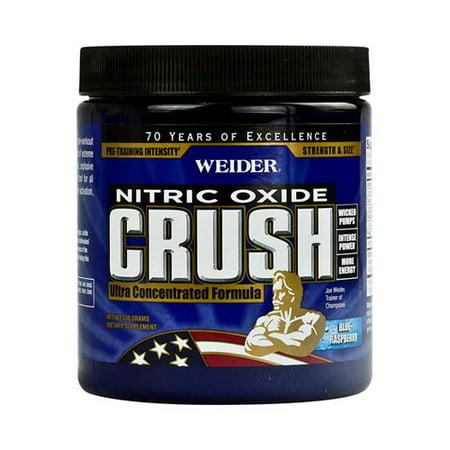 Weider Global Nutrition Crush Pre Workout - Blue Raspberry - 330 grams-pack de 6