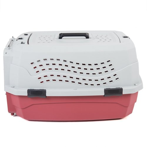 Favorite 2 Door Top Load Car Travel Vet Visit Pet Carrier