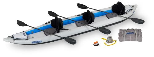 Click here to buy Sea Eagle 465FT FastTrack Inflatable Kayak Pro Carbon Package by Sea Eagle Boats, Inc..
